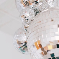A Disco Ball That Packs A Punch, recipe inside